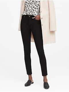 Petite Mid-Rise Skinny Fade-Resistant Ankle Jean
