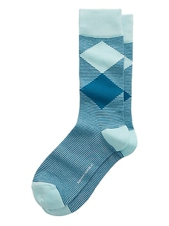 Double Diamond Sock