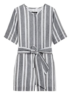 Cotton-Linen Romper