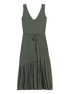 Petite Sandwash Modal Midi Dress