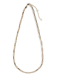 Long collier chaîne