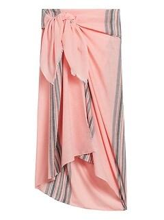 Textured Stripe Sarong