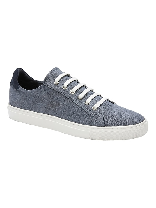 Nicklas Laceless Canvas Sneaker