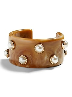 Pearl Resin Cuff