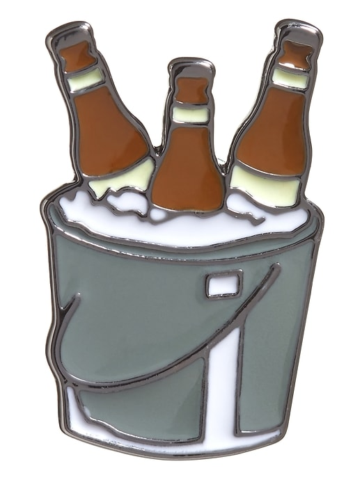 Ice Beer Bucket Push Pin