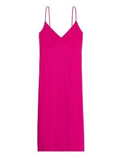 Petite Wrinkle-Resistant Tie-Back Dress