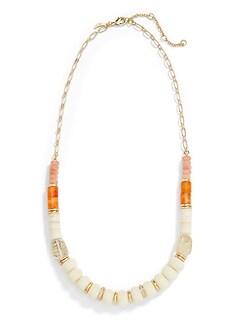 Collier à perles variées