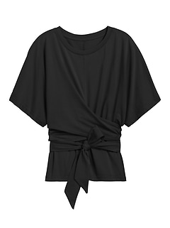 SUPIMA® Cotton Wrap Top