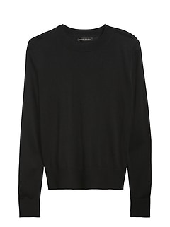Silk Cashmere Relaxed Sweater