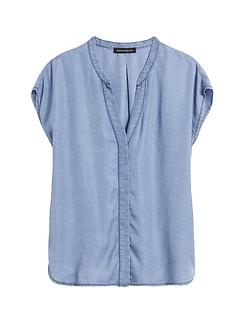 TENCEL™ Dolman-Sleeve Shirt