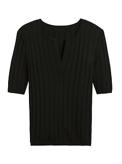 Silk Cashmere Sweater Top