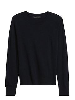 Petite Washable Merino Crew-Neck Sweater