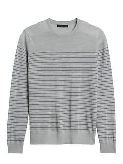 Responsible Merino Stripe Sweater