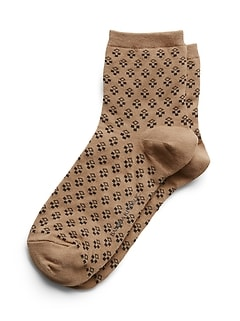 Fancy Dot Ankle Sock