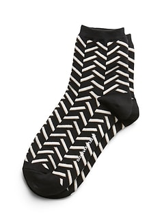 Chevron Ankle Sock