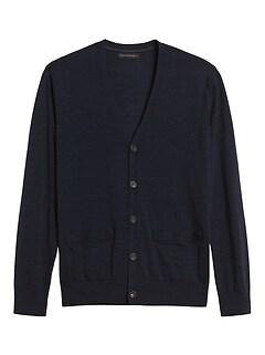 Responsible Merino Cardigan Sweater