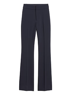 Petite High-Rise Flare Pant