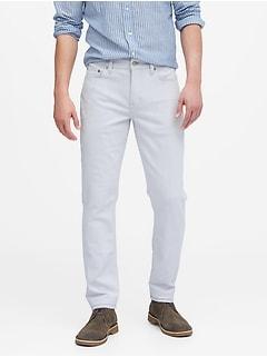 Heritage Slim White Jean