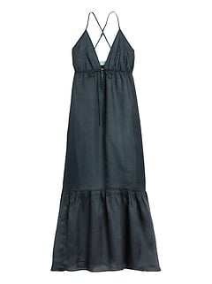 Ramie Maxi Dress