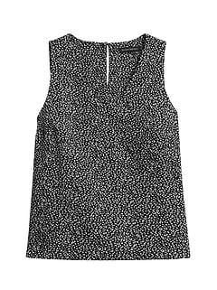 Leopard V-Neck Top