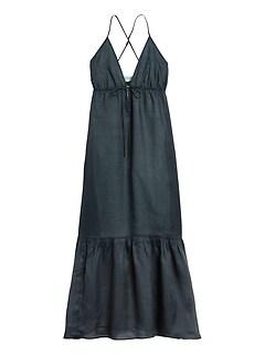 Petite Ramie Maxi Dress