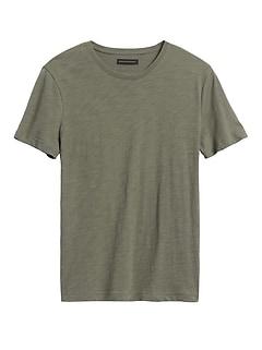 Organic Soft Wash Crew-Neck T-Shirt