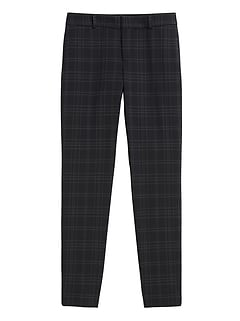 Avery Straight-Fit Washable Wool-Blend Pant