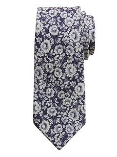 Morris Floral Wool Tie
