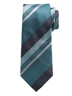 Drake Stripes Silk Tie