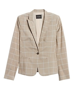 Classic-Fit Washable Wool-Blend Blazer