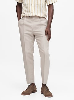 Heritage Trooper-Fit Linen Suit Pant