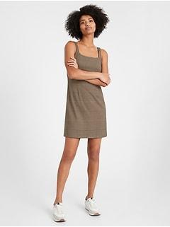 Petite Plaid Mini Dress