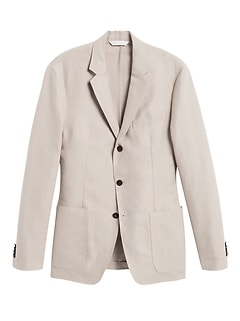 Heritage Slim Linen Suit Jacket