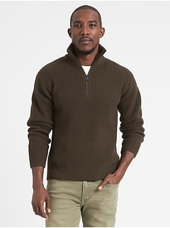 Heritage Half-Zip Sweater