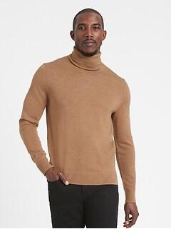 Italian Merino Turtleneck Sweater