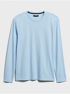 Luxury-Touch Crew-Neck T-Shirt