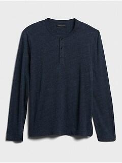 Organic Cotton Henley T-Shirt