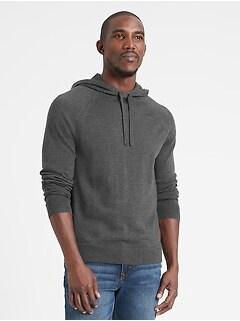 Merino Sweater Hoodie