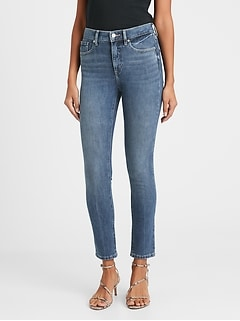 High-Rise Slim Ankle Jean