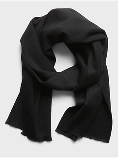 Écharpe habillée en laine