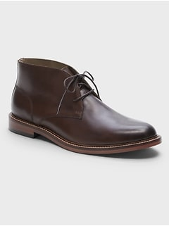Realey Leather Chukka Boot