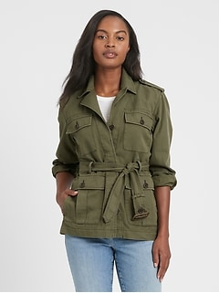 Heritage Cotton-Linen Safari Jacket