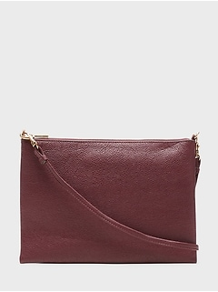 Leather Effortless Crossbody