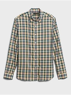 Standard-Fit Cotton Shirt