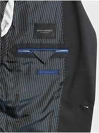 Standard Solid Italian Wool Suit Jacket