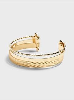 Bracelet en métaux variés