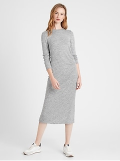 Luxespun Side-Ruched Dress