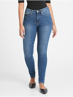 Curvy Mid-Rise Skinny Jean with Back-Seam