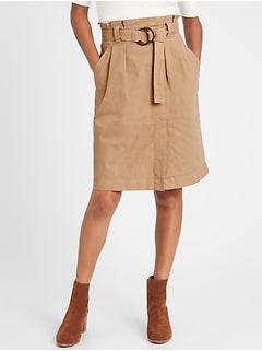 Canvas Utility Skirt