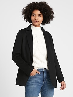 Petite Unlined Double-Faced Jacket